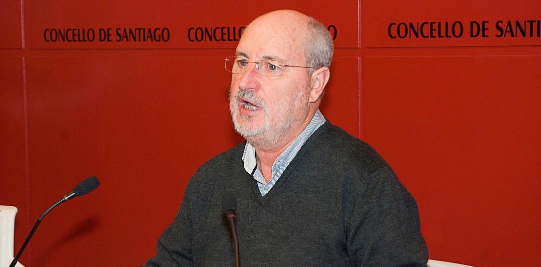 O deputado de Compostela Aberta, Manuel Dios, fai balance dos primeiros cen días da Deputación da Coruña