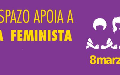 Chamamento de Compostela Aberta a apoiar a #FolgaFeminista8M