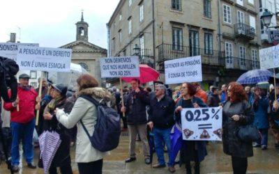 Compostela Aberta e Marea Atlántica defenden moción na Deputación da Coruña en apoio das pensións dignas
