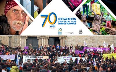 CA promove declaracións na Deputación polo 25N e polo aniversario da Declaración Universal dos Dereitos Humanos