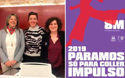 Compostela Aberta súmase á folga feminista do 8M e anima ás mulleres a que a secunden de forma masiva