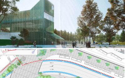 Conciliar eficacia e humanización: así serán os futuros accesos da estación de bus no viario Clara Campoamor