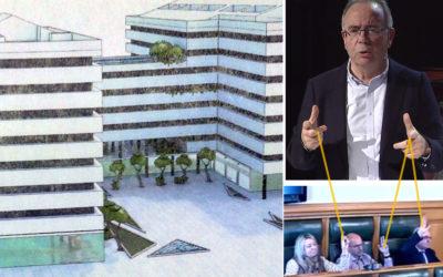 O PSOE de Bugallo bloquea a recuperación do edificio Peleteiro e a dinamización do Ensanche