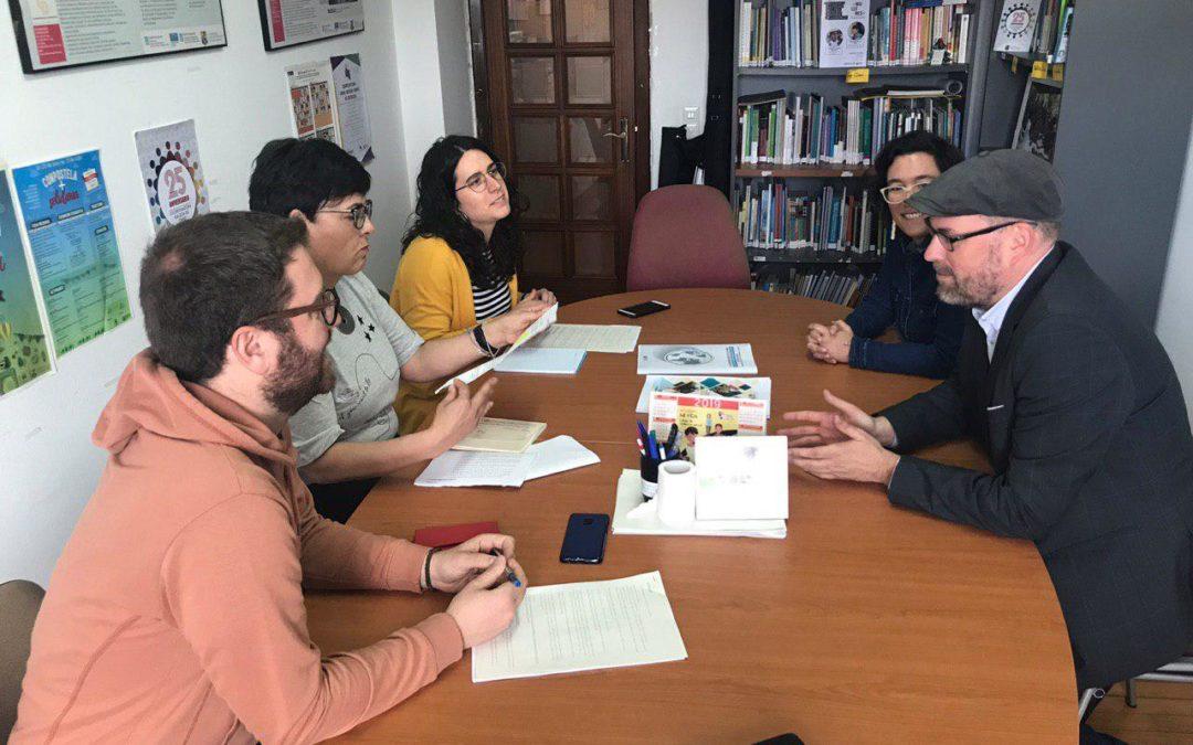 Facemos balance dos avances na Compostela Social coa Coordinadora Galega de ONGDs