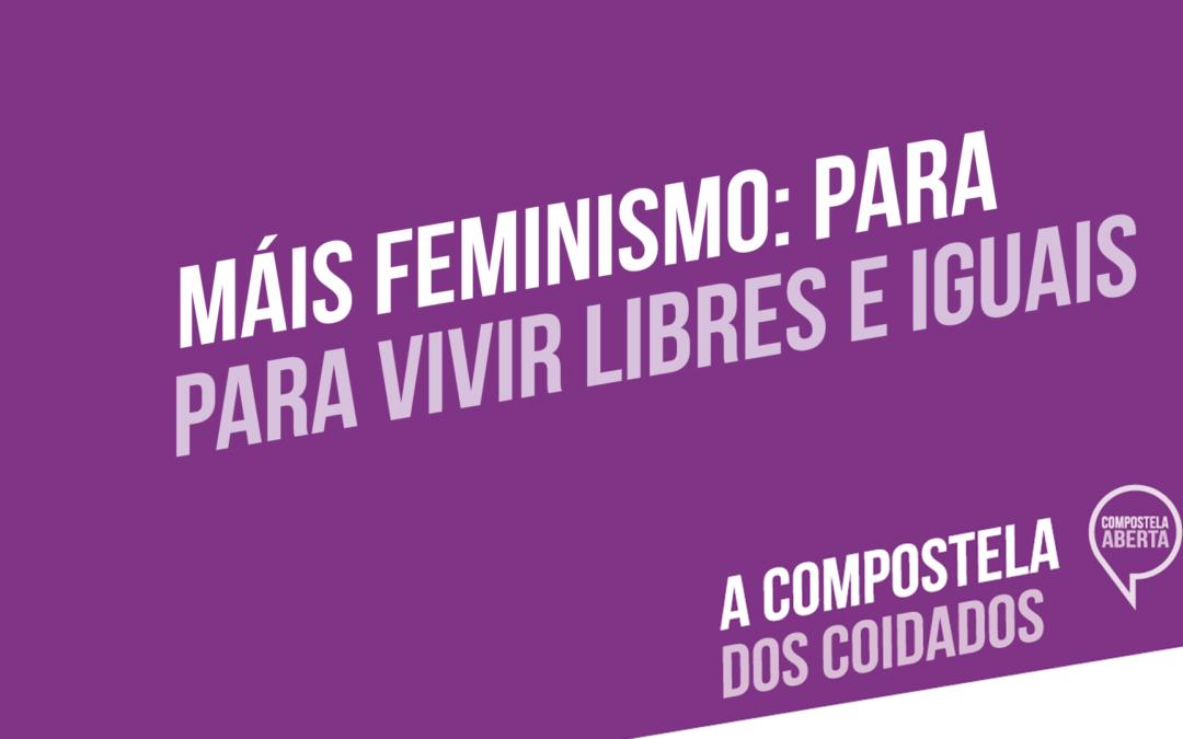 Reto Máis feminismo: Compostela Aberta creará máis recursos habitacionais para vítimas das violencias machistas