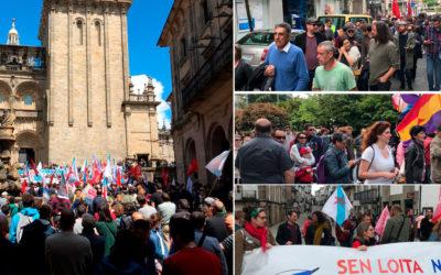 #1deMaio Compostela Aberta, lugar de encontro na loita polos dereitos e contra a precariedade laboral