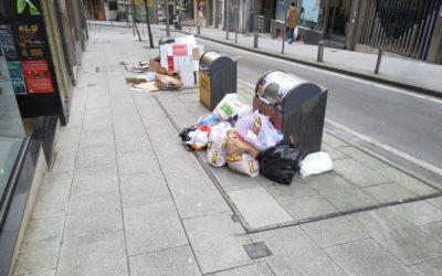 CA alerta do atraso na licitación do novo contrato de recollida do lixo e limpeza viaria