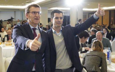 """Compostela Aberta denuncia as falsidades do candidato Feijóo na súa suposta """"rendición de contas"""" en Santiago"""