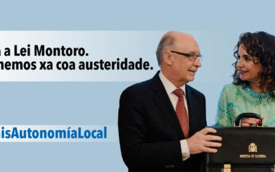 As mareas municipalistas celebran que o goberno do Estado rectifique na incautación do aforro dos Concellos e reclaman a derrogación total das leis de austeridade