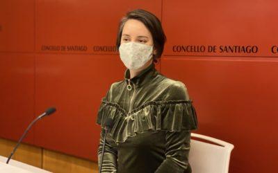 Branca Novoneyra reclama promoción e unha mellora da sinalización das esculturas dos parques de Compostela