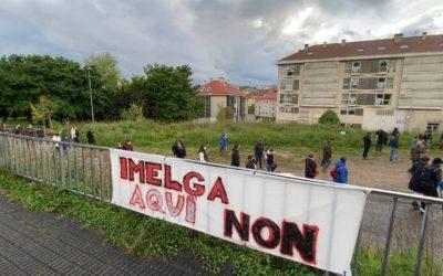 """Marta Lois: """"Bugallo tén que reaccionar, despois da mobilización da veciñanza de Fontiñas contra a construción do Imelga no barrio"""""""