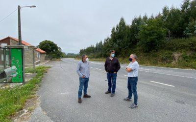 Compostela Aberta reclama un estudo e a mellora da seguridade viaria da estrada que conecta Santiago e Val do Dubra